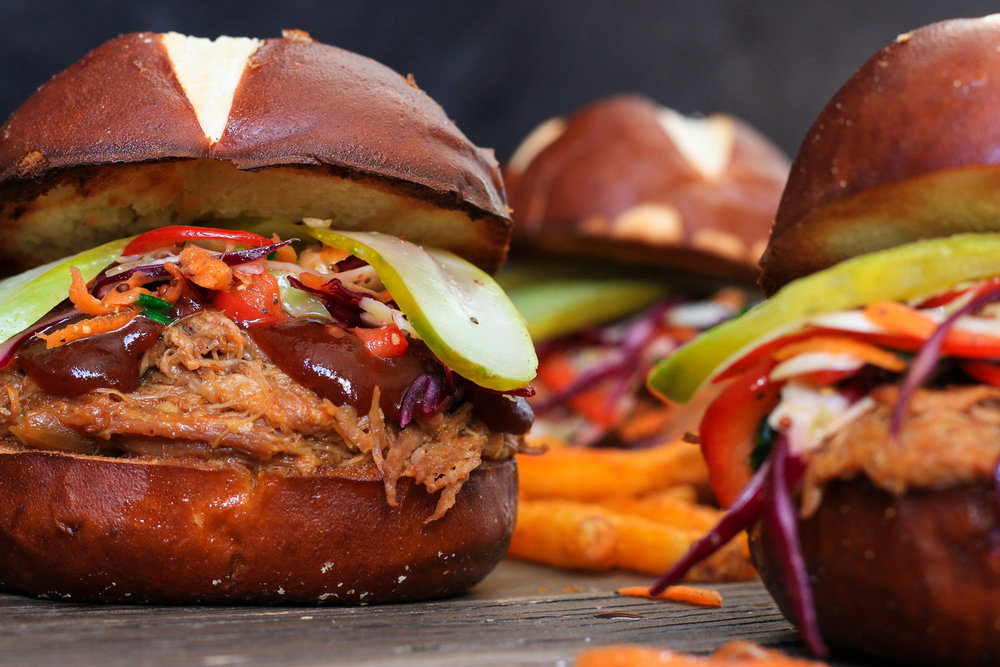 Slow+cooker+pulled+pork+sandwiches+with+tangy+coleslaw.jpgSlow Cooker Pulled Pork Sandwiches with Tangy Coleslaw