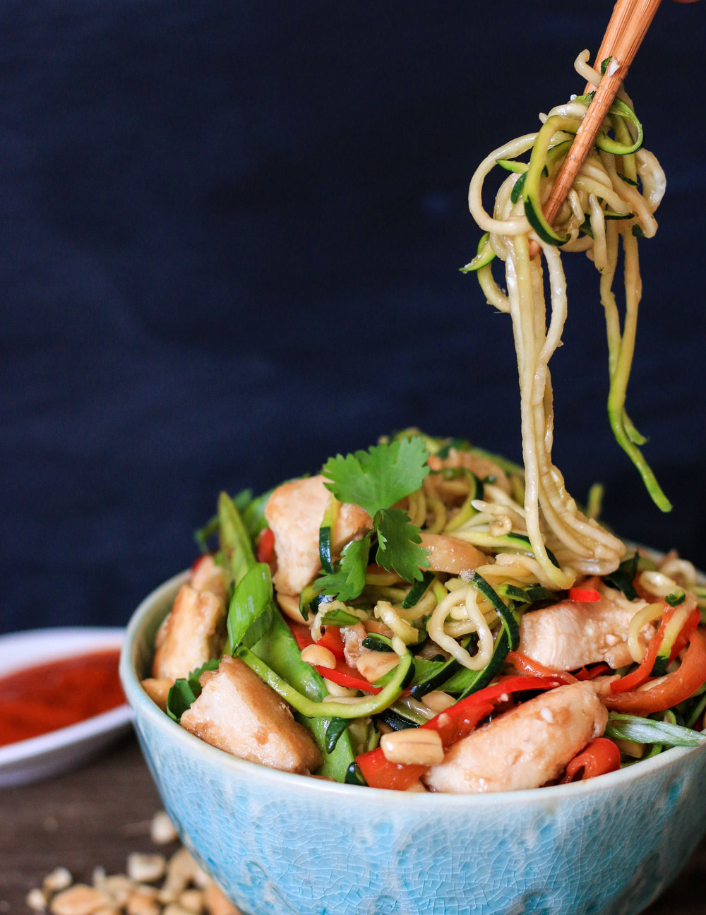 Zoodle Kung Pao