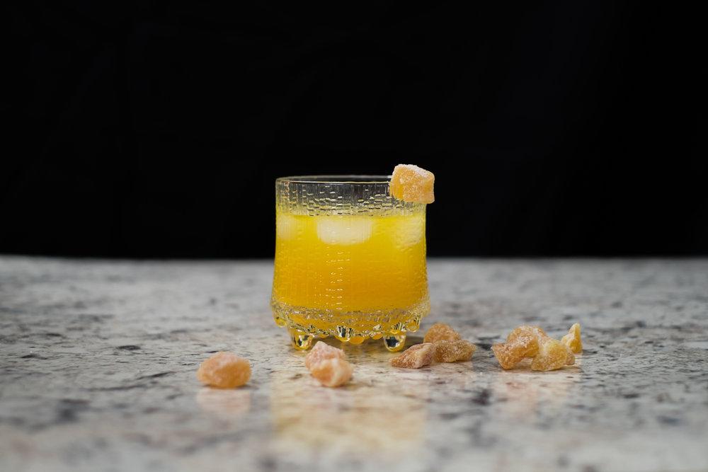 Bourbon + Ginger
