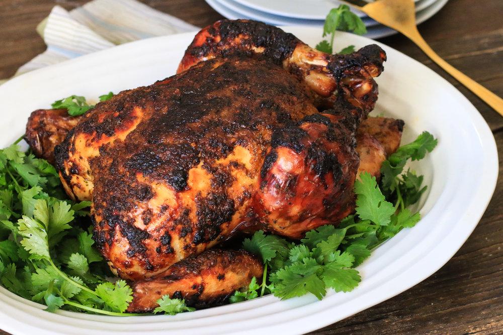 Piri-Piri Whole Roasted Chicken