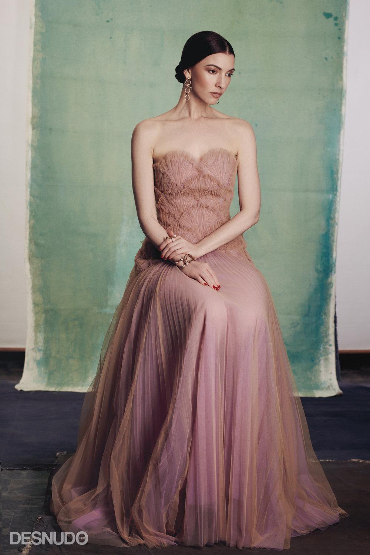 dress  SYLVIO GIARDINA , jewelry  GIULIA MANCINELLI BONAFACCIA