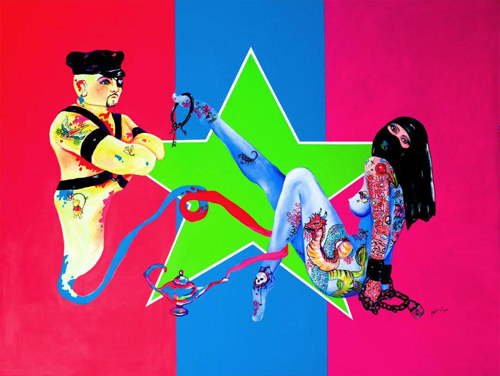 Artwork courtesy of Baxx Vladimir.