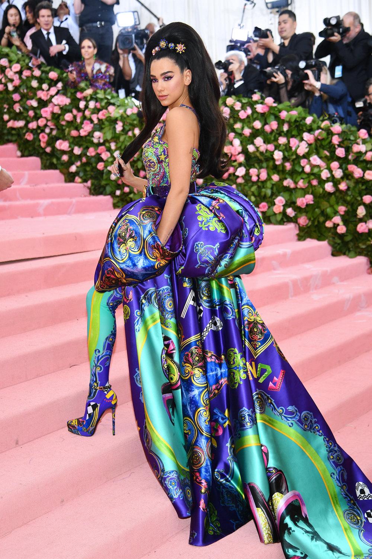Dua Lipa in Versace