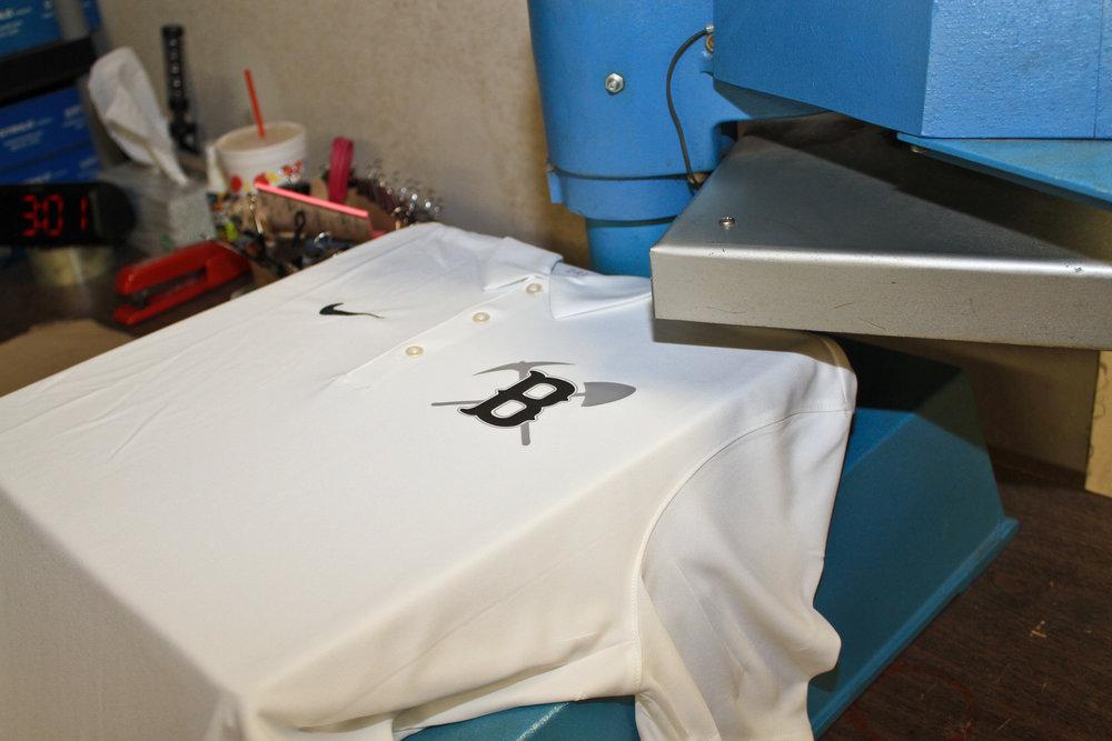 Custom Letter Press