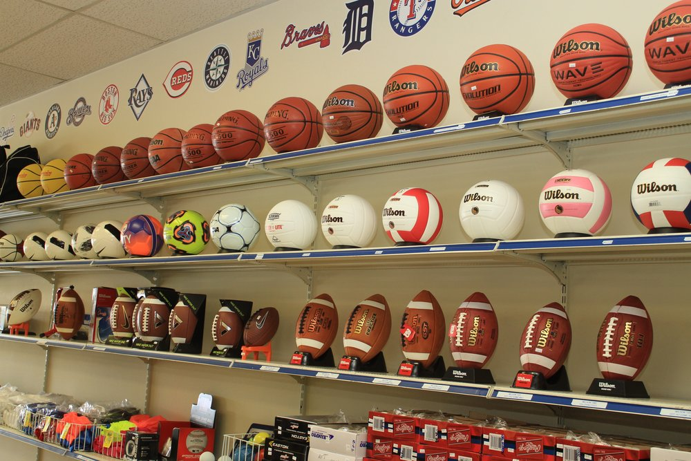 Official Balls for All Sports