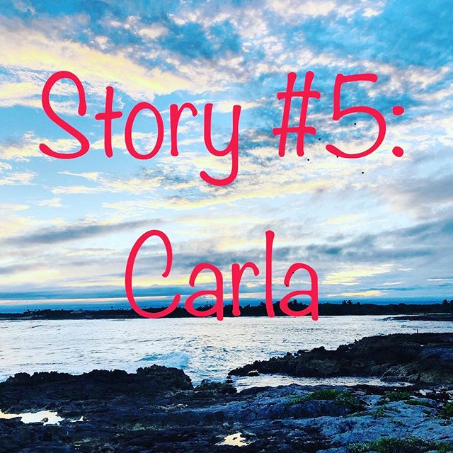 """Story #5: Carla is live and available on SoundCloud and invisiblestoriesproject.com // Sometimes help comes from unexpected people in unexpected, yet beautiful, ways. // Stay kind, my friends! (ID: some rocks with ocean and pretty clouds at sunset with red letters that read """"Story #5: Carla"""") #invisiblestoriesproject #invisibleillness #spoonie #spooniestories"""