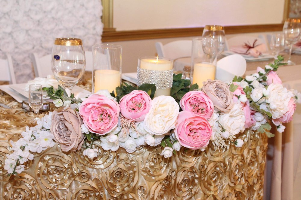 Tablescaping For Wedding Event
