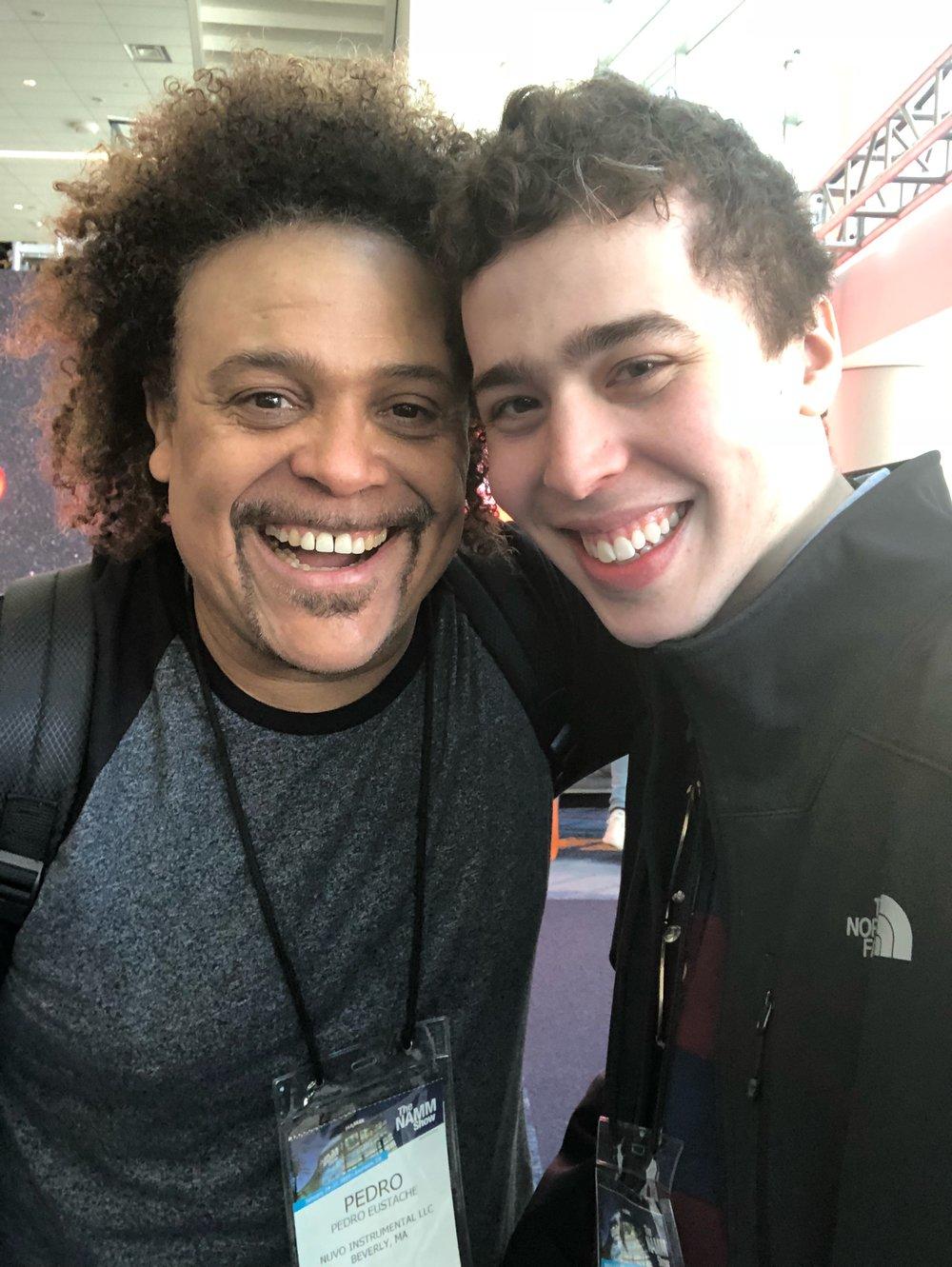 Ashton & Pedro Eustache