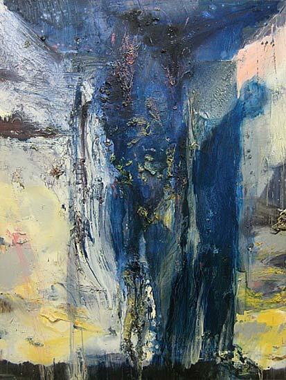 Blue Velvet, 2003    oil on canvas  180 x 137 cm   SOLD