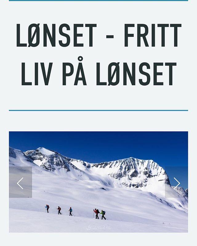 Ny nettside er nå publisert! Gå inn på www.lonset.no 🖥 gi gjerne en tilbakemelding om hva du synes!