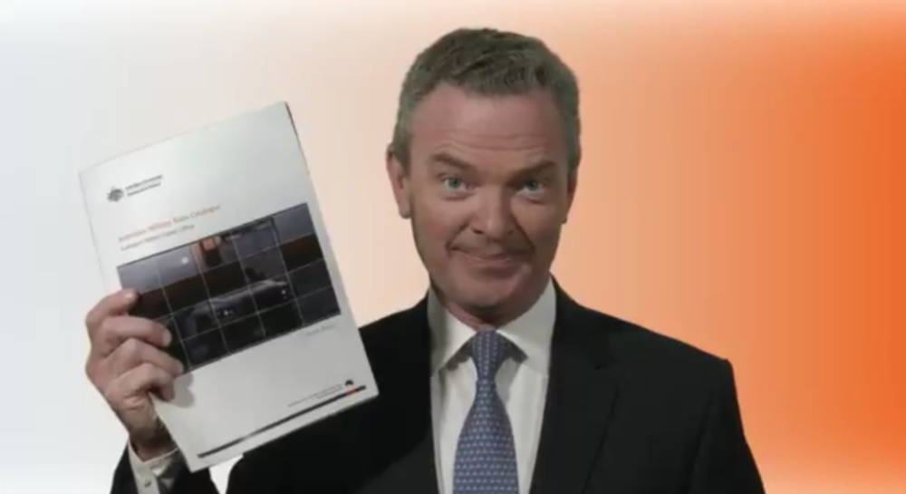 Review: Christopher Pyne's Australian Military Sales Catalogue - Ibis House ⧟ Non-Fiction