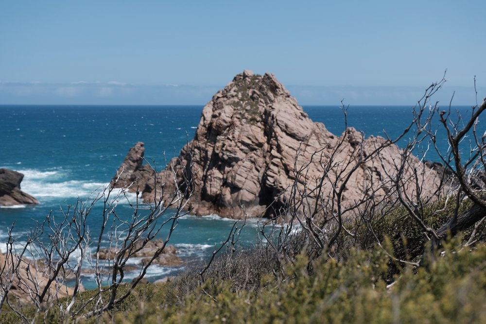 Sugarloaf Rock was meant to be our sunrise location the next morning, but we were here the day before to look for our composition and familiarise ourselves with the surroundings