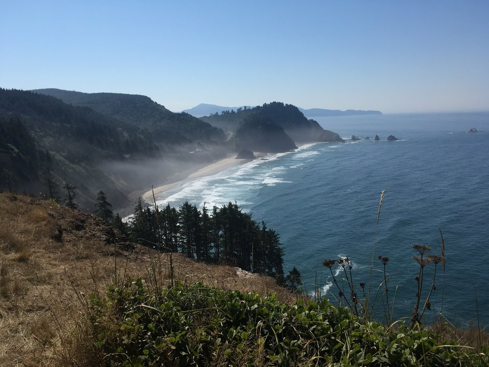 Looking South from Cape Meares