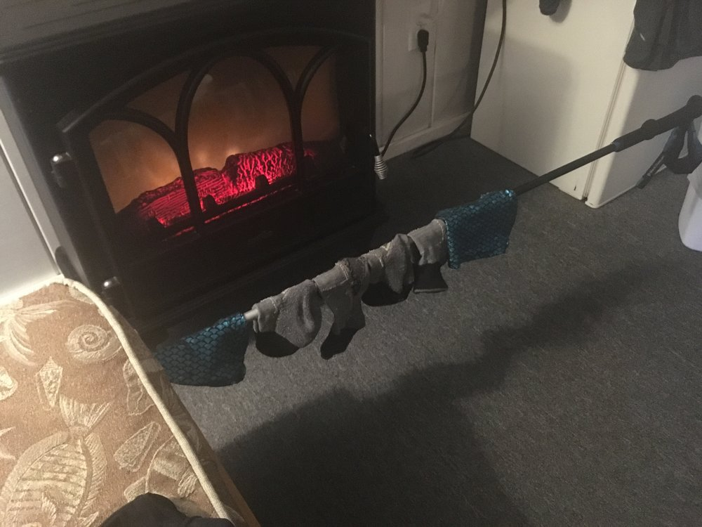 The Never Ending Quest for Dry Socks