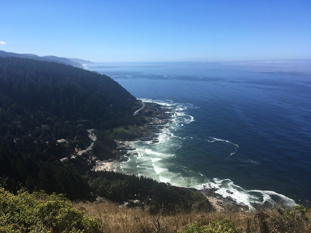 Top of Cape Perpetua