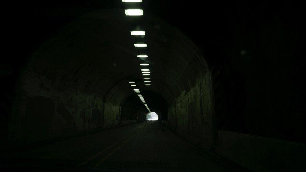 Inside the Tunnel. Photo by  Adrian Vila