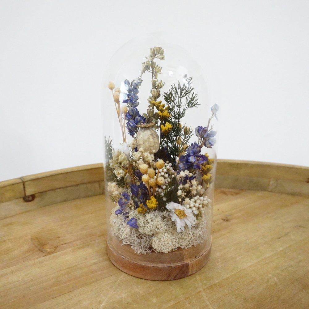 Copia de Cúpula de flores secas y preservadas