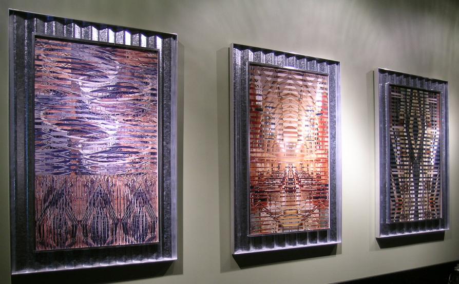 "Brassfield & Gorrie conference room Atlanta GA © 2004 Pattiy Torno 39"" x 24"""