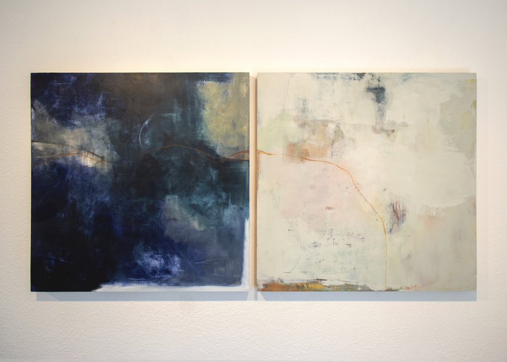 Elementum: New Moon & Fog 24 x 24 (ea)