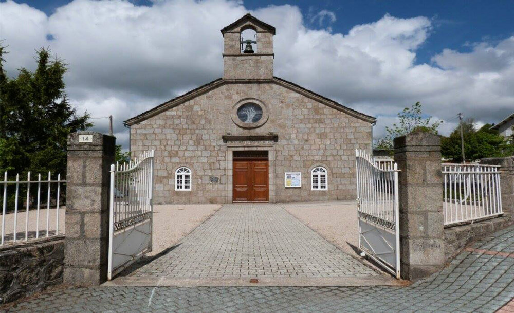 Eglise Protestante Unie du Chambon-sur-Lignon , the French church of Pastor André Trocmé whose stories inspired the pageant.