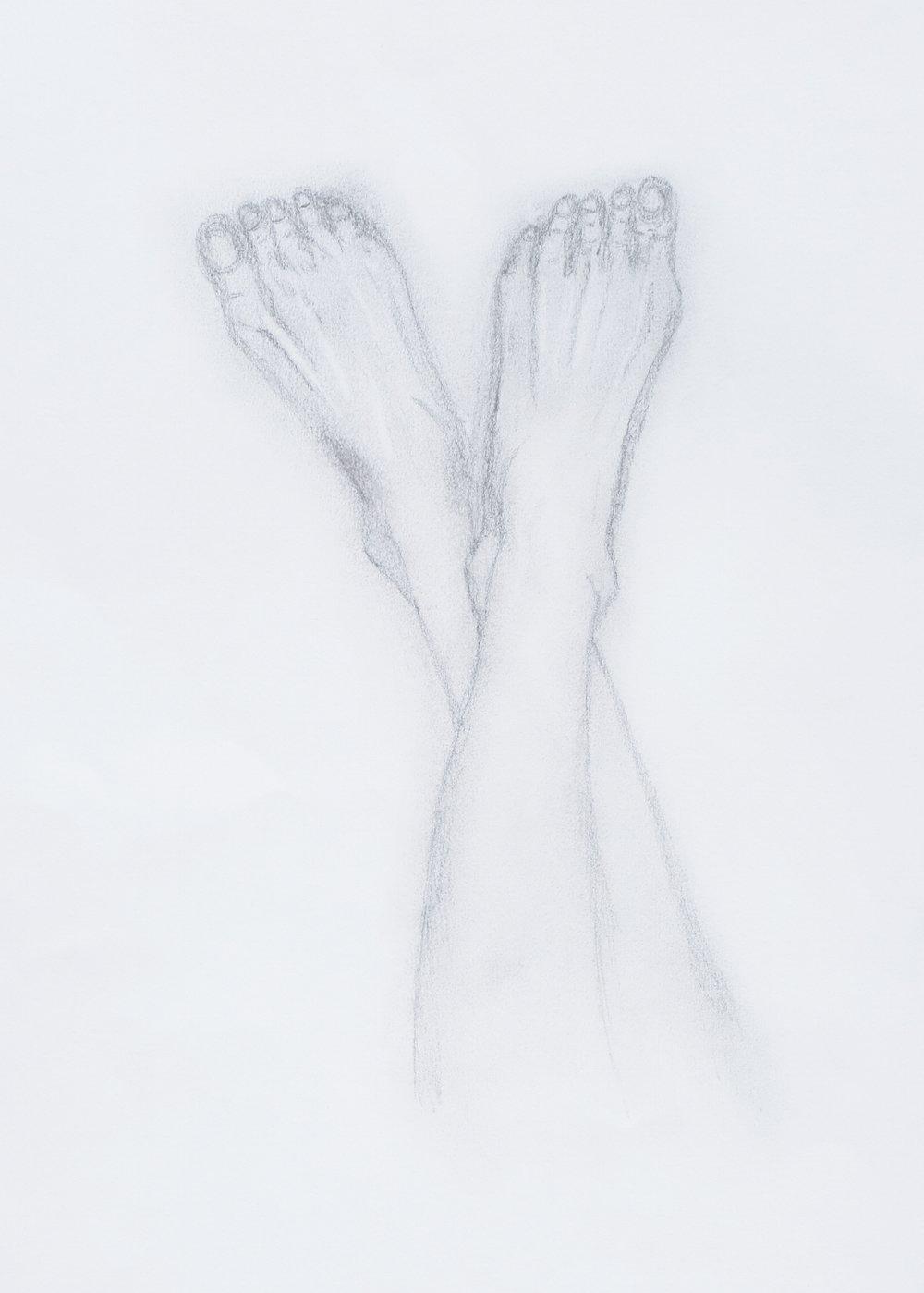 Crossed Feet Study