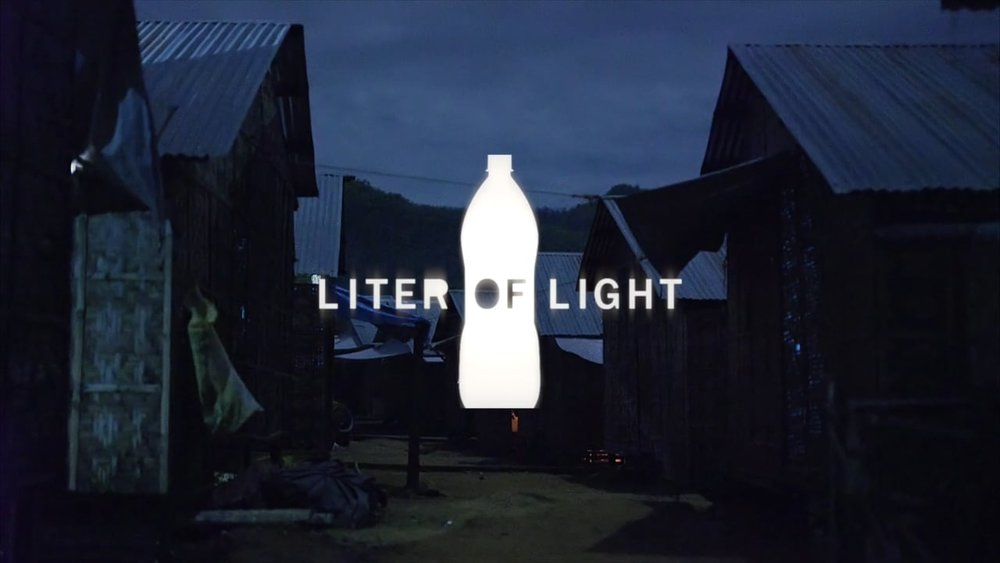 Power for good - Working with Liter of Light to deploy off-grid recycled street lighting in areas where its needed most.