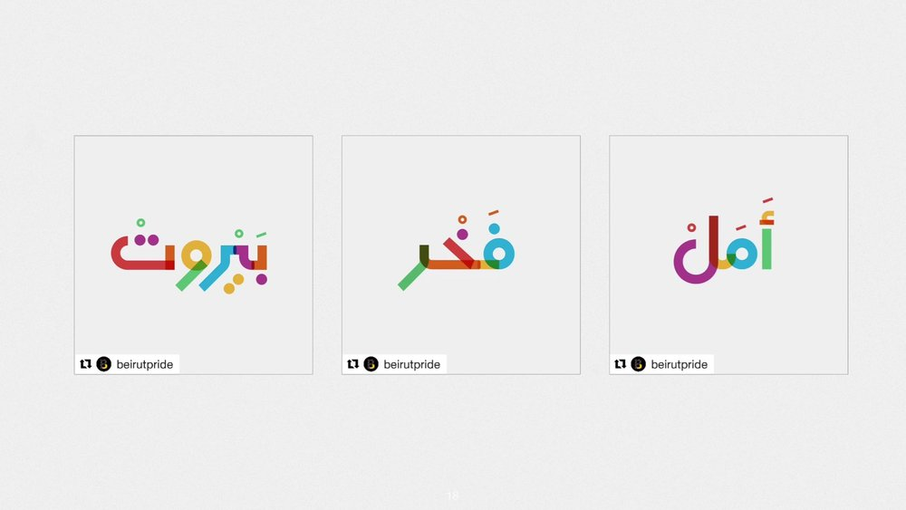 An Arabic version was created