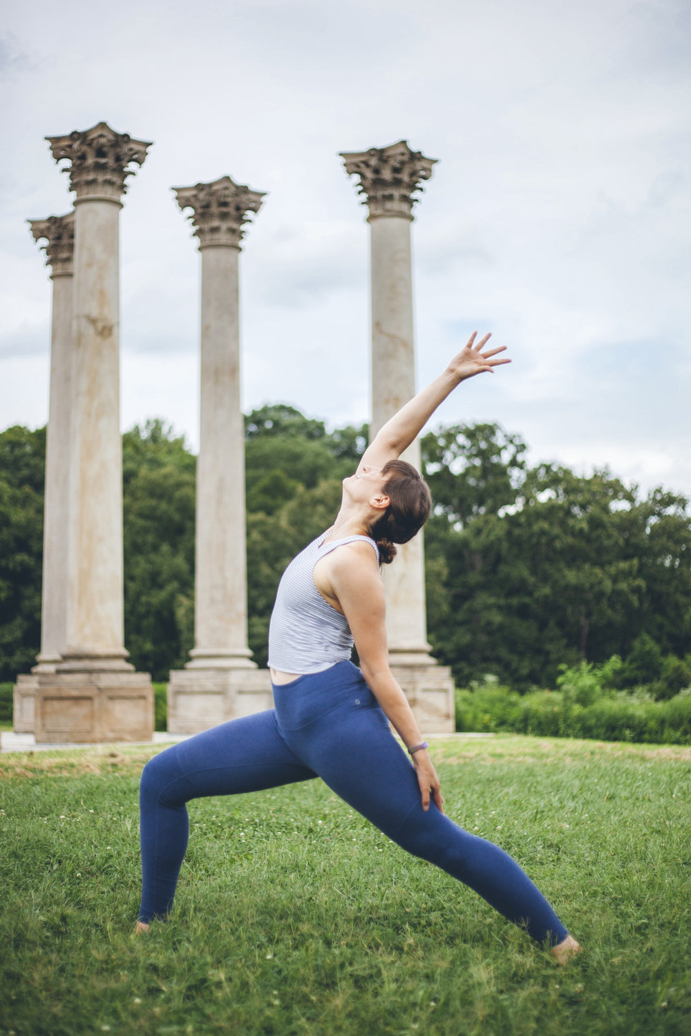 Virabhadrasana (warrior poses) is comprised of the Sanskrit terms for hero and friend.