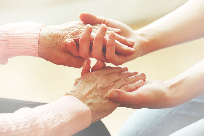 How can music therapy help adults in hospice or palliative care? -