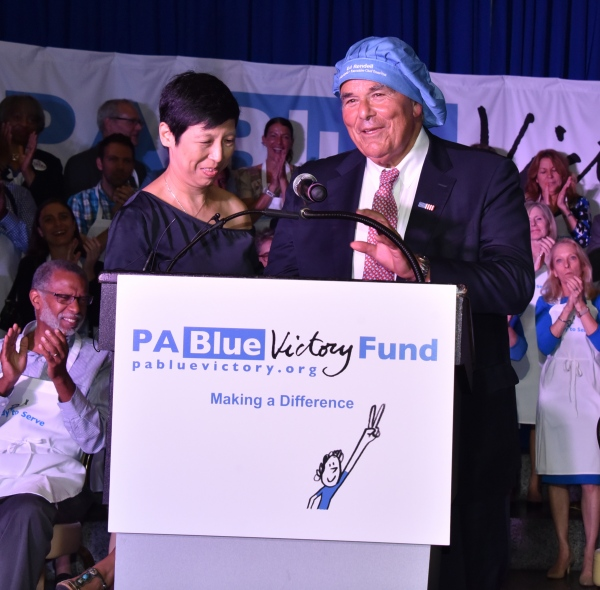Ellen Yin, Restauranteur  Ed Rendell, Honorary Chef, Former Governor, PA