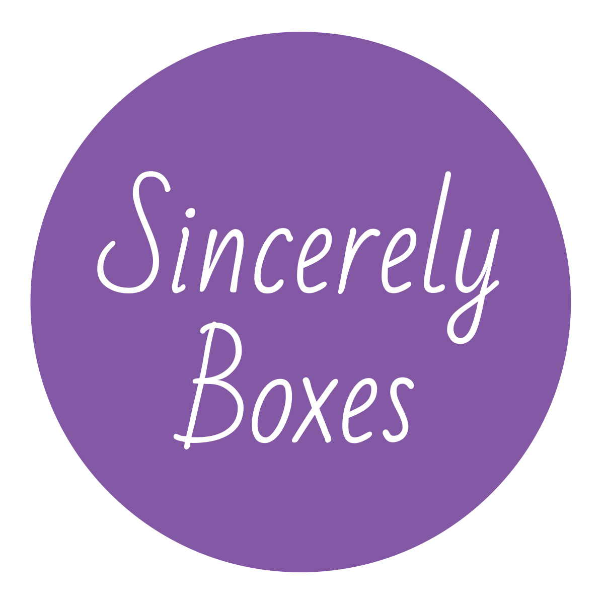 Sincerely Boxes