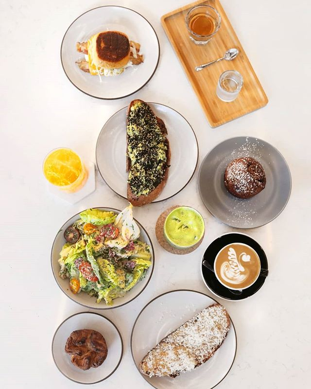 | Pros and cons of making food:  Pros : Food Cons : Making  That's why we're here to make it for you.  #Food #Coffee #Pastries #Juice . . . . . . . #foodie #foodbloggers #foodphotography #foodporn #foodies #foodprep #miami #downtownmiami #xbuilding #brunch #miamibrunch #coffeeporn #coffeegram #miamicoffeeshops #avotoast #foody #foodstagram
