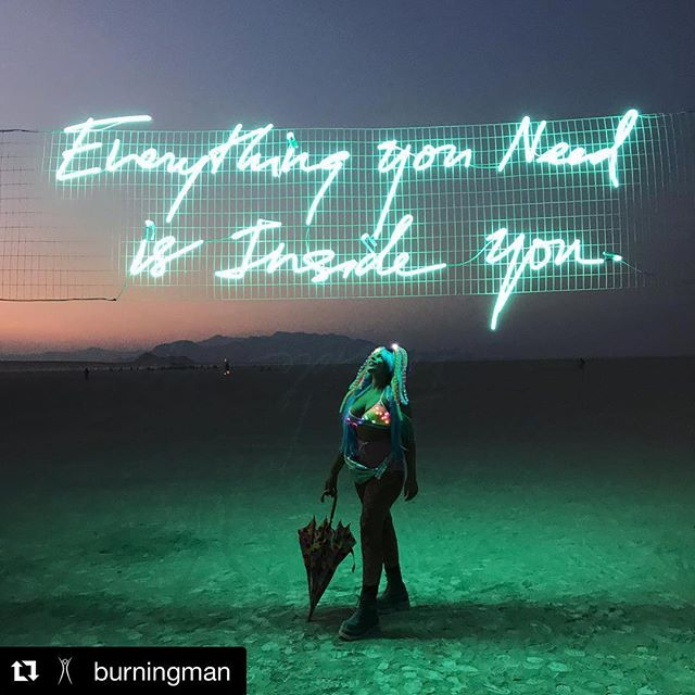 Burning Man, we love you. #Repost @burningman ・・・ Indeed. | Photo by @stephaniewhitaker_ | #burningman #blackrockcity #brc #radicalselfreliance