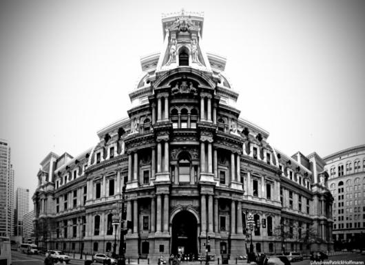 📸  Philadelphia City Hall, (1871-1901), John McArthur, Jr.