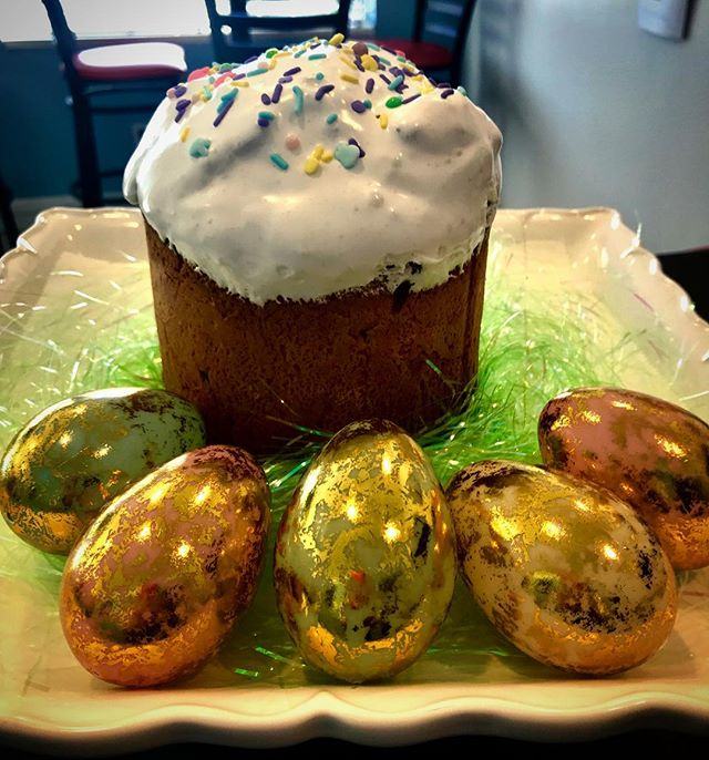#Easter is almost here... 🐰🐣 Pre-order a beautiful traditional Easter bread (Kulich) for the festivities!