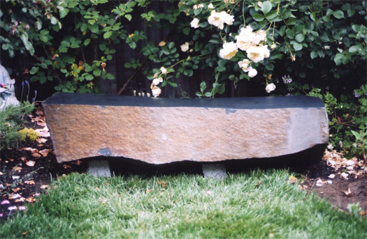 "Bench  - Basalt 55"" long"
