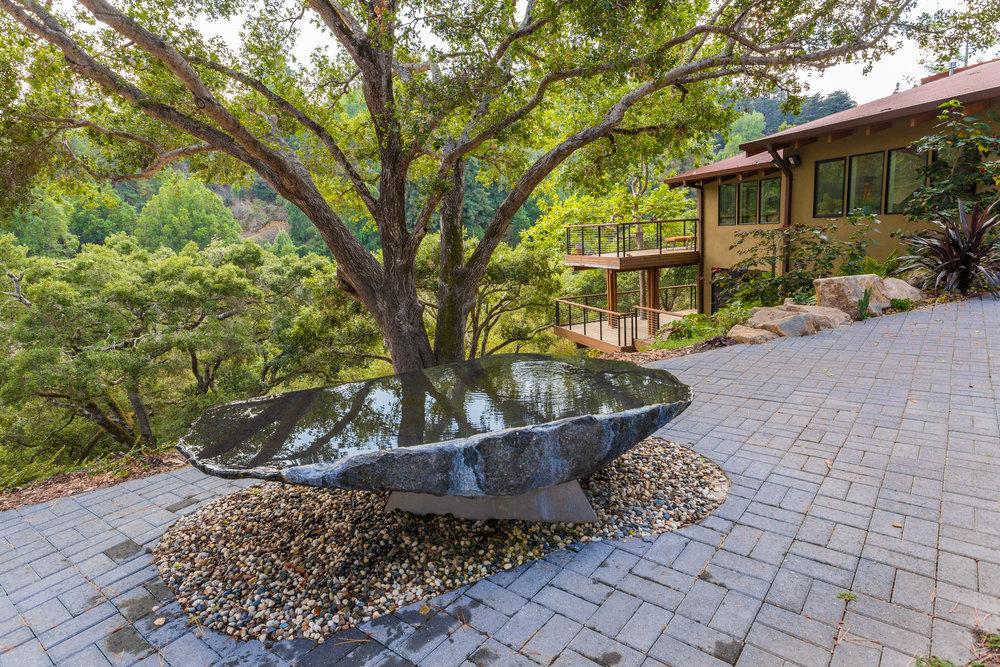 Cantilever  - Granite & aluminum, 7' long