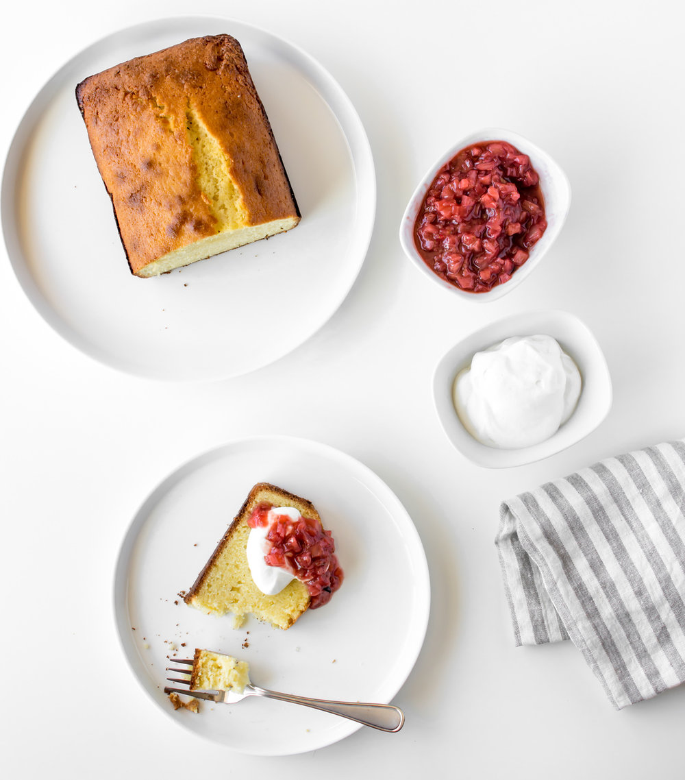pound cake with roasted strawberry fennel compote.jpg