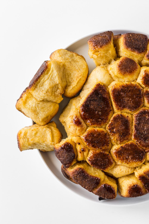 brown butter butternut squash rolls