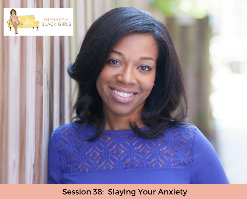 - The Therapy for Black Girls Podcast is a weekly conversation with Dr. Joy Harden Bradford, a licensed Psychologist in Atlanta, Georgia, about all things mental health, personal development, and all the small decisions we can make to become the best possible version of ourselves.This week's episode features Dr. Alicia Little Hodge, we chatted about how we can recognize signs of anxiety, where they come from and what we can do about it.