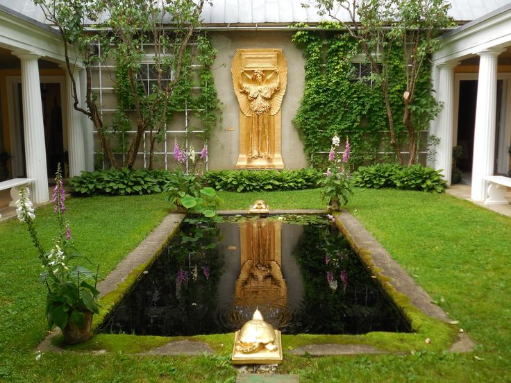 Atrium Fountain at St. Gaudens National Historic Site