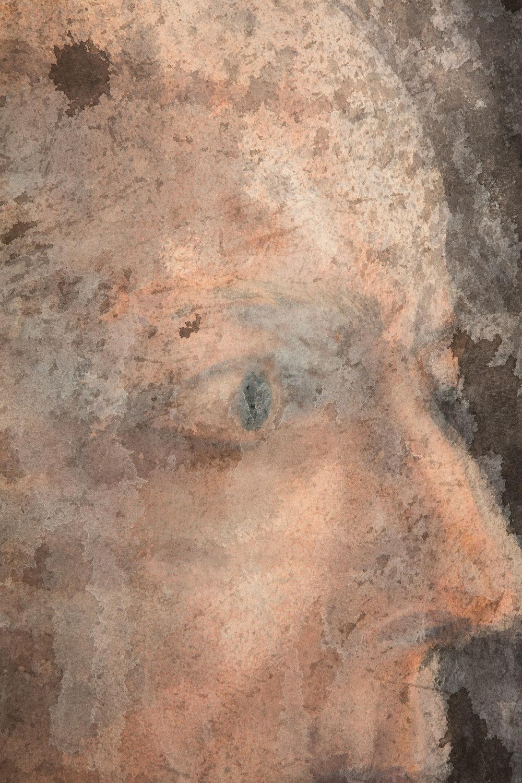 Self-portrait IX - detail