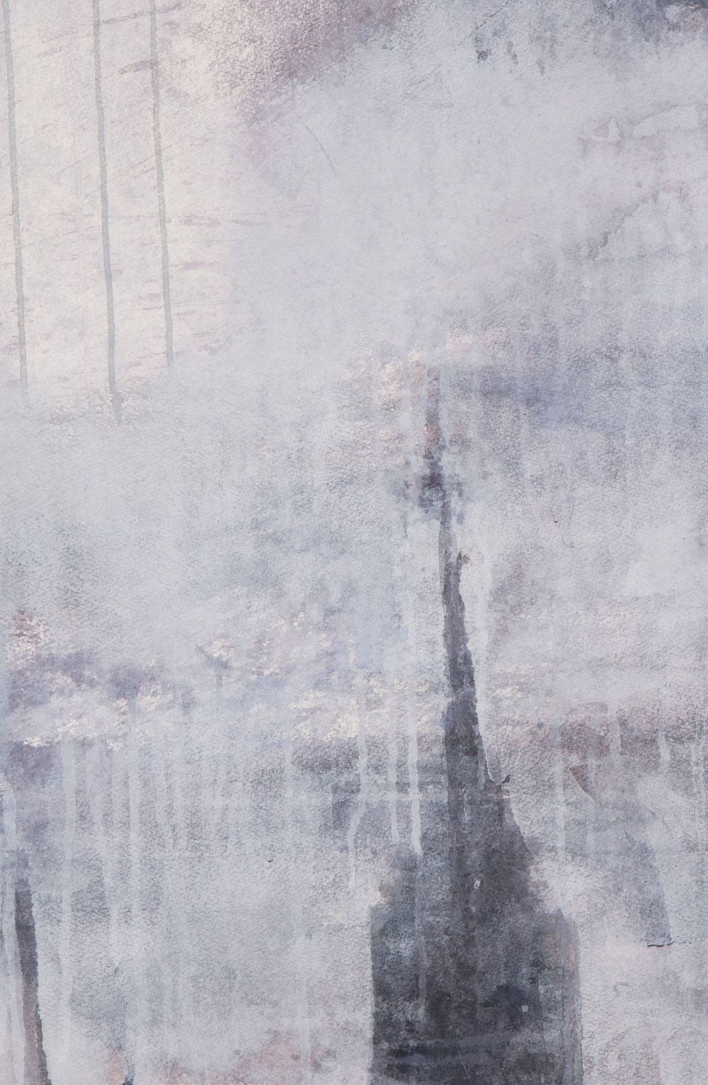 Looking North (Triptych) - detail