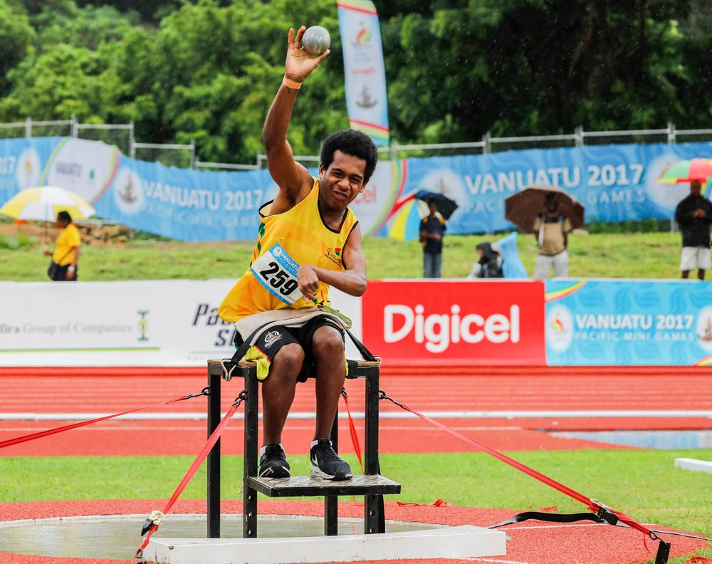 Vision - The Vanuatu Paralympic Committee (VPC) aims to develop and promote sport in Vanuatu for people with an impairment so that all have the opportunity to play sport at all levels.