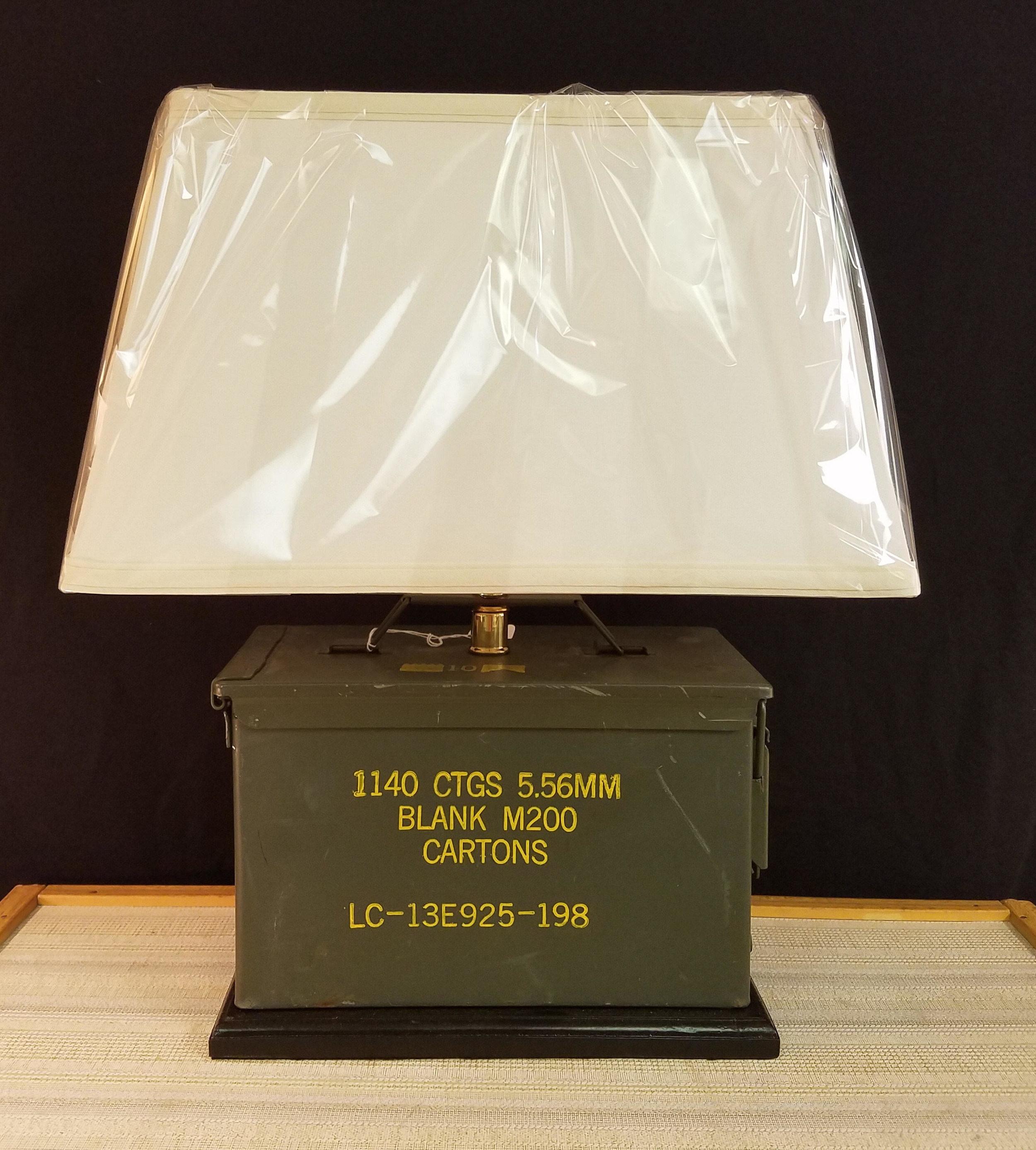 Military Ammunition Box Ammo Lamp