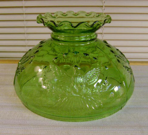 "10"" Green Eagle (old formula, Green Glass - Not Stained Glass) $85.00"