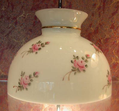 "10"" Chintz Rose 10"" Hand Painted Student $150.00 (Special Order Only )"
