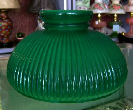 "10"" Painted Green Rib $95.00"