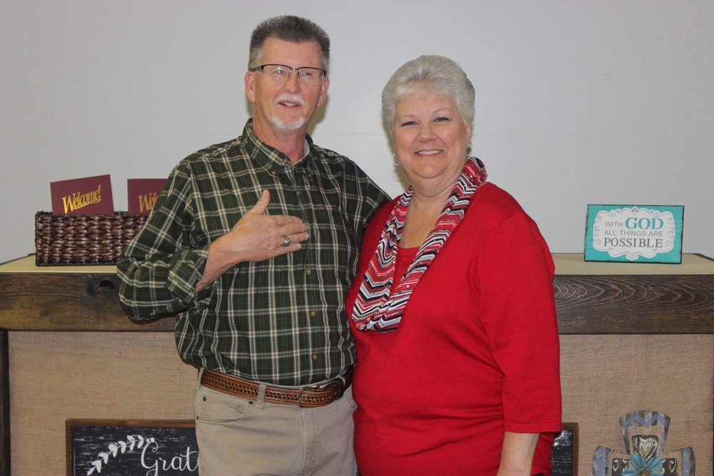 Terry Knighten - Lead Pastor (Pictured with his wife, Donna)