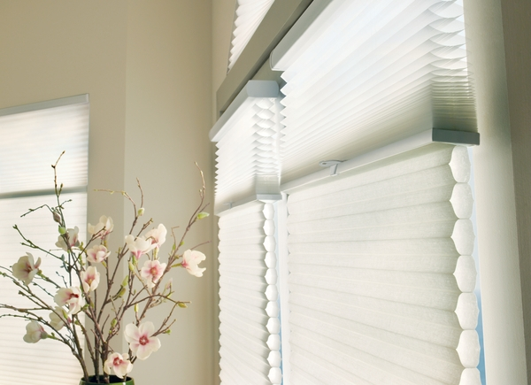 Shades - Shades blend form and function to deliver superior benefits and a variety of solutions for every home. Choose from a wide selection of styles that offer precise light control, easy operation, and protection from excess heat, glare, and UV rays—all available in a wide range of colors and materials.